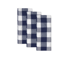 Load image into Gallery viewer, Striped Tablecloths for Rectangle Tables - Grey French Striped Tablecloths