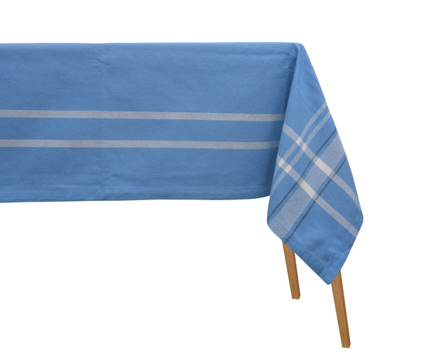 Striped Dining Tablecloth (Blue)