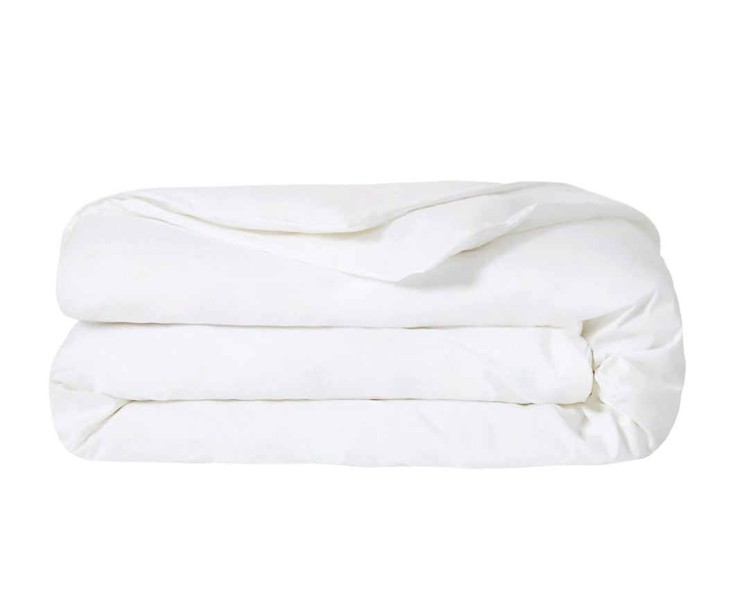 Cotton Duvet Cover, Queen Size  (White)