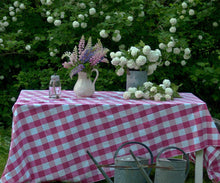 Load image into Gallery viewer, Checkered Tablecloth