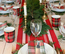 Load image into Gallery viewer, Rectangular Table Runner - (Full Red)