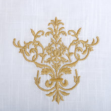 Load image into Gallery viewer, French Stripe Placemat - Red and Black.