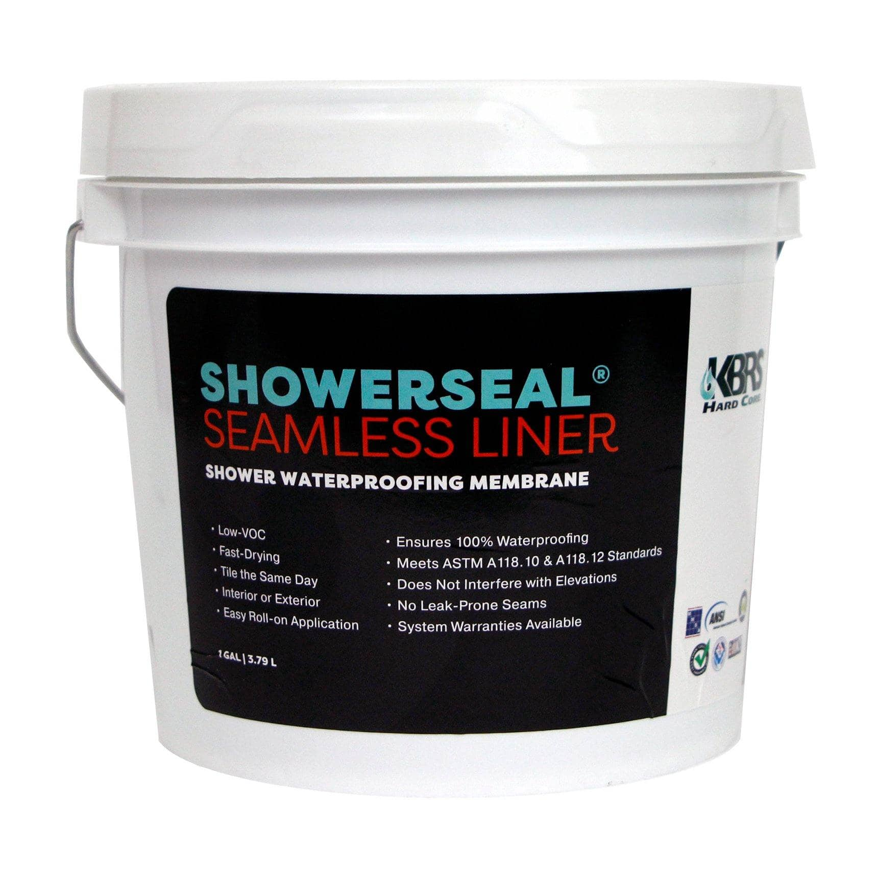 Shower Liquid Liner Waterproofing KBRS ShowerSeal® 1 Gal  (Free Shipping)