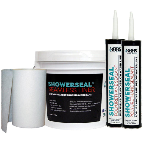 Waterproofing Pack #1 - KBRS - ShowerBase.com