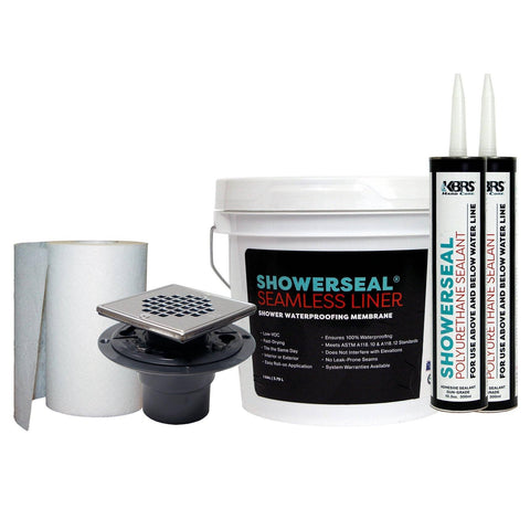 Waterproofing Pack #2 - KBRS - ShowerBase.com