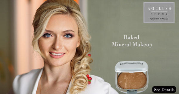 Baked Mineral Makeup for a Healthy and Flawless Look.