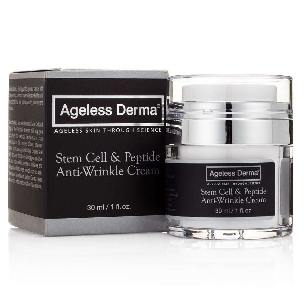 Stem Cell and Peptide Anti-Wrinkle Cream by Dr. Mostamand