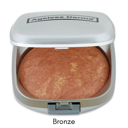 Healthy Baked Mineral Foundation with Vitamin and Green Tea for Mature Skin.