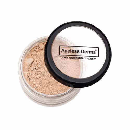 Loose Mineral Foundation With Vitamin and Green Tea for a Radiant Natural Look