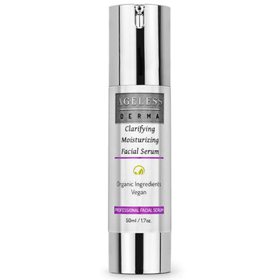 Clarifying Moisturizing Facial Serum with Vitamin and Antioxidants