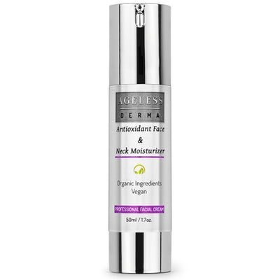 Organic Antioxidant Face and Neck Moisturizer by Dr. Mostamand