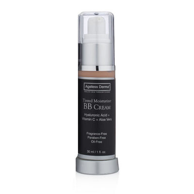 BB Cream Tinted Moisturizer with Hyaluronic Acid and Vitamin C