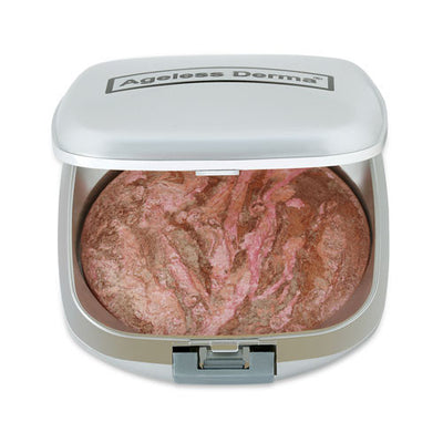 Baked Mineral Blush with Vitamin and Antioxidants for a Silky Look