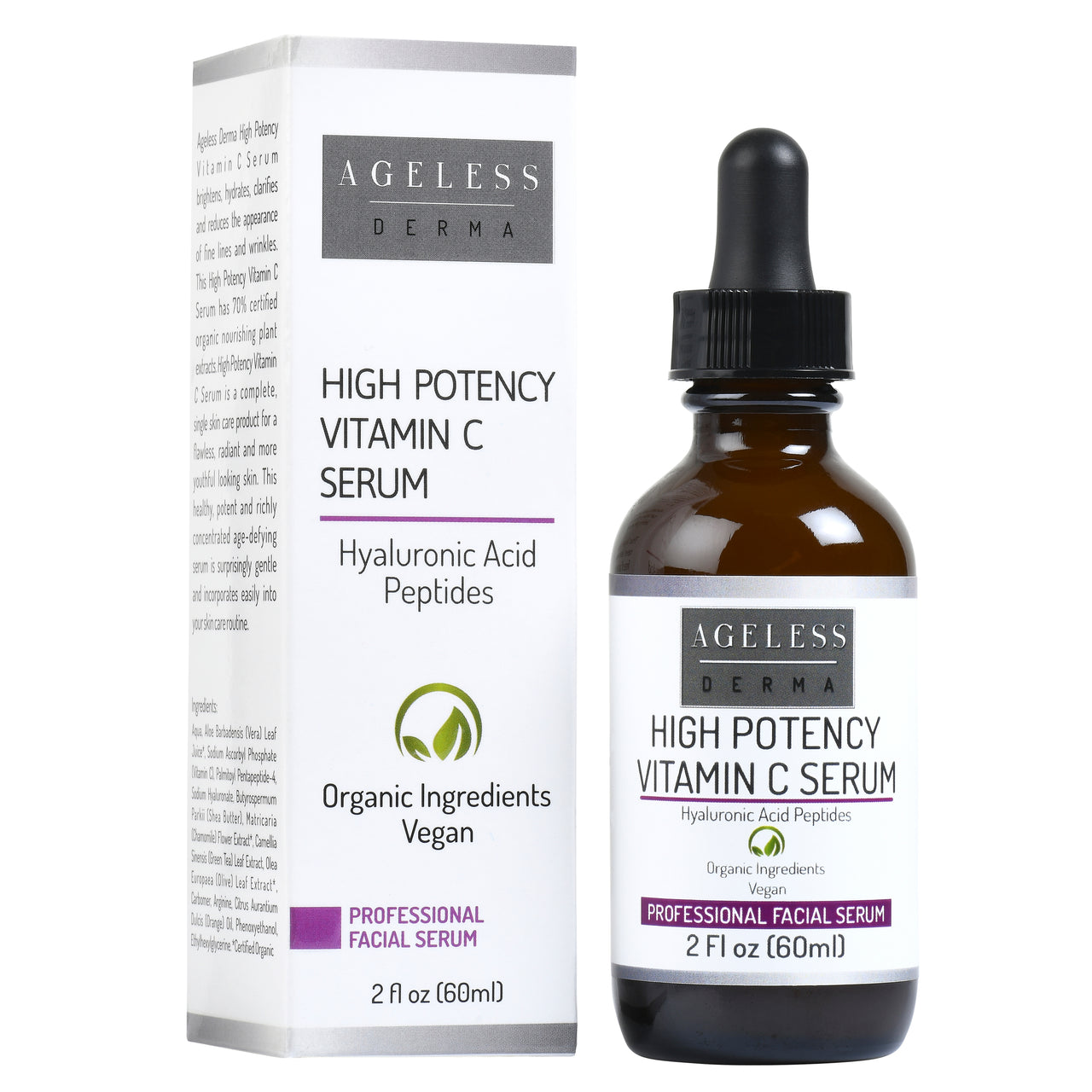 Professional High Potency Vitamin C Serum by Dr. Mostamand for a Glowing Skin
