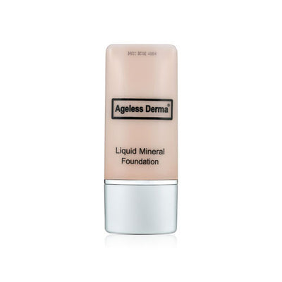 Liquid Mineral Foundation with Vitamin & Hyaluronic Acid