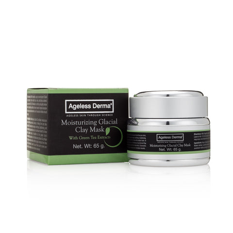 Ageless Derma Moisturizing Glacial Clay Mask with Green Tea Extracts