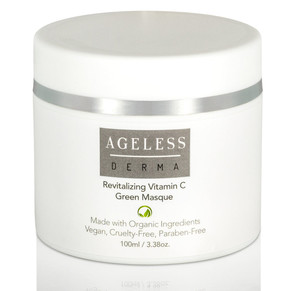 Ageless Derma Revitalizing Vitamin C Green Masque