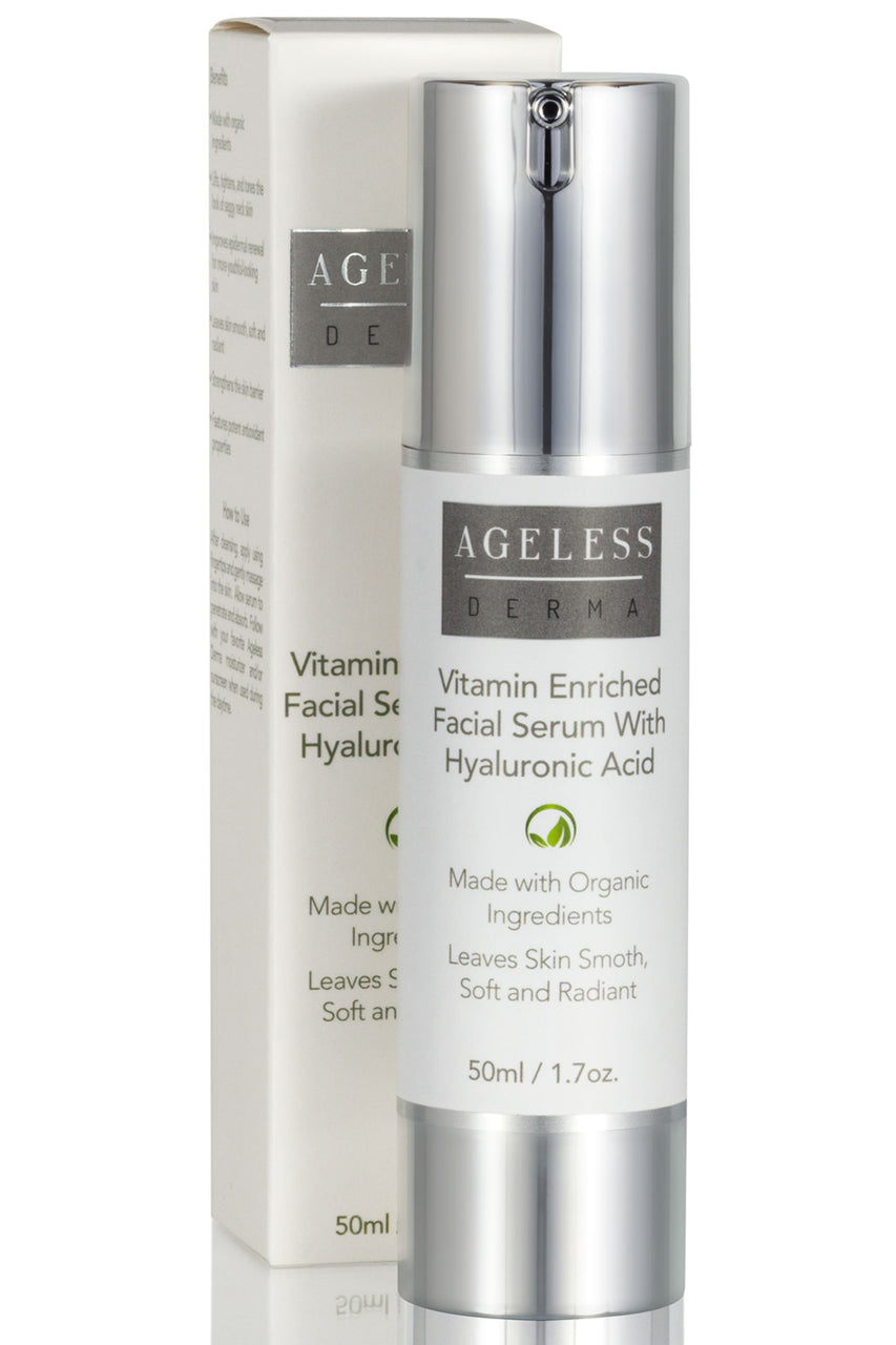 Vitamin Enriched Hyaluronic Acid Serum for a Smooth and Plump Skin