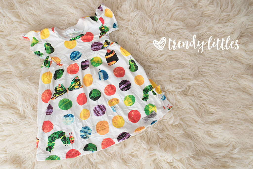 Hungry Caterpillar Ruffle Pearl
