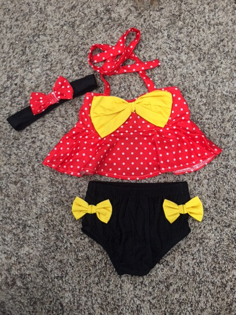 Minnie inspired tankini