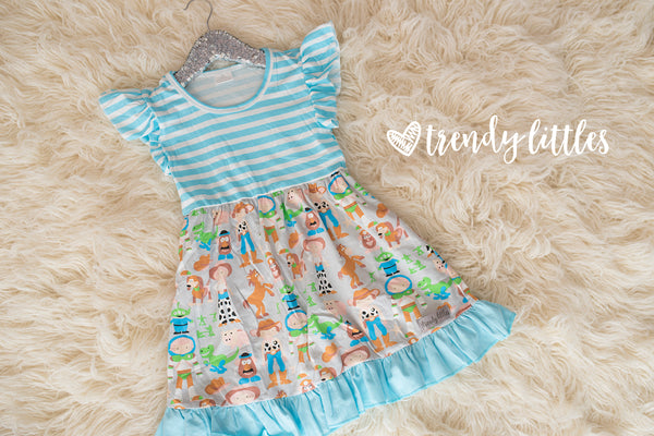 Toy Story flutter dress