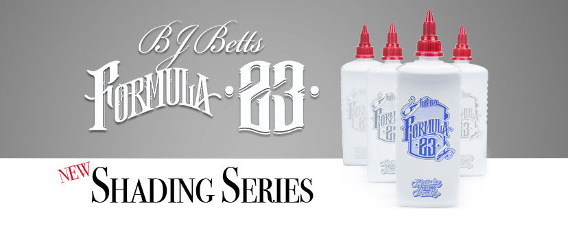 BJ Betts Formula 23 Shading Series