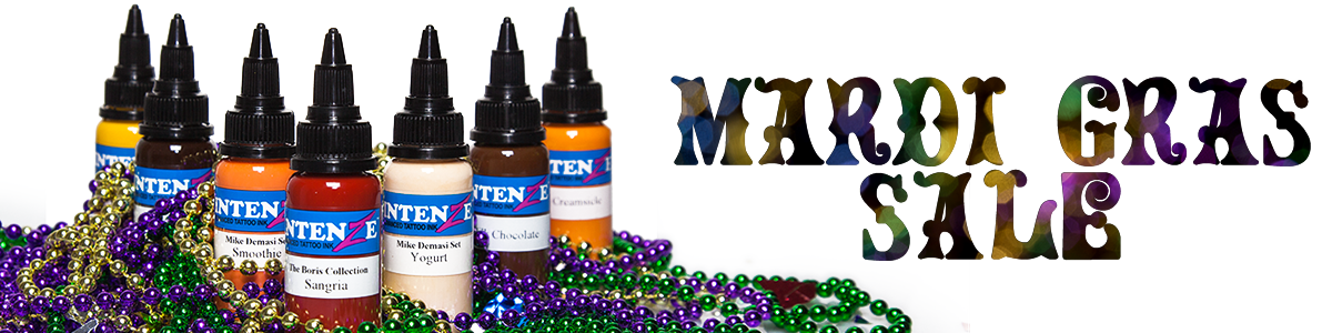 Intenze Tattoo Ink Mardi Gras Holiday Ink Sale