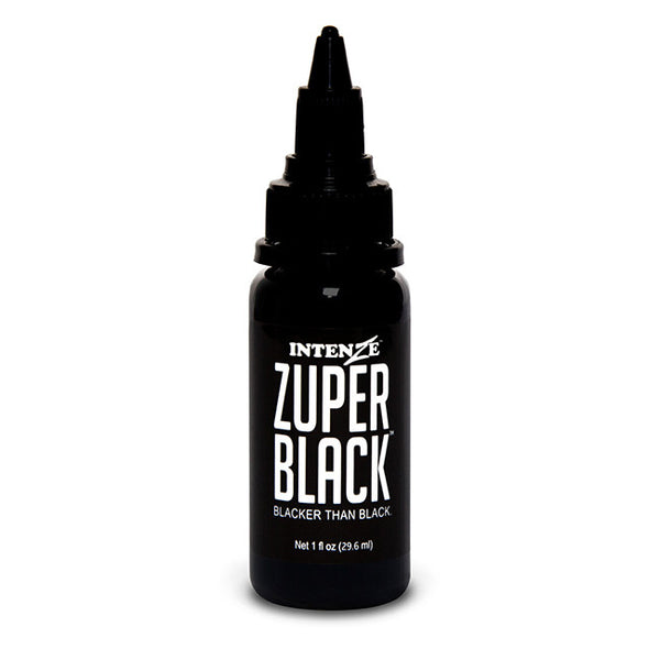 Zuper Black Tattoo Ink