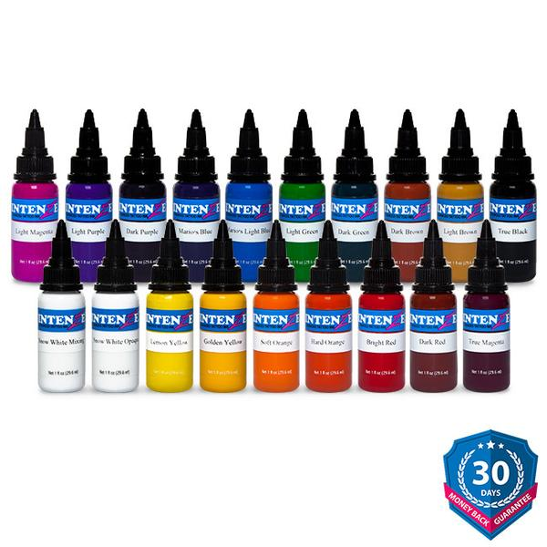 19 Color Tattoo Ink Set