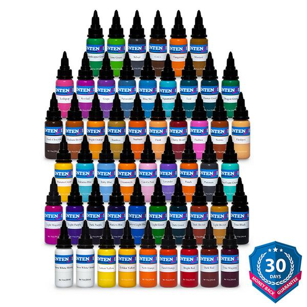 54 Color Set Tattoo Ink