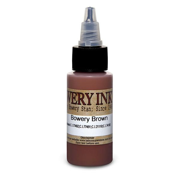 Intenze Bowery Ink Brown by Bowery Stan Moskowitz