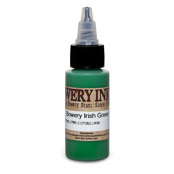 Intenze Bowery Ink Irish Green by Bowery Stan Moskowitz