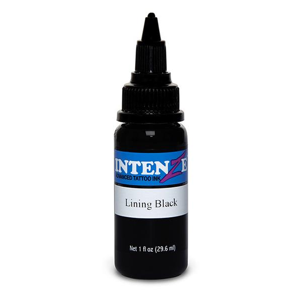 Intenze Lining Black Tattoo Ink