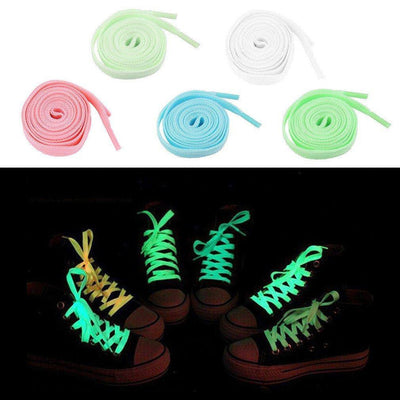 1 Pair 100cm Luminous Shoelaces