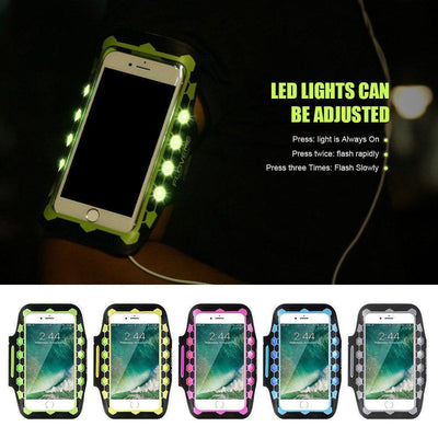 "Armbands - 4.7"" Waterproof Armband With LED Lighting"