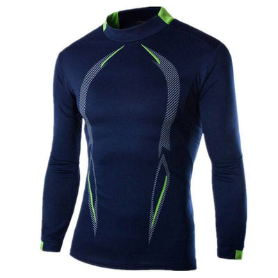 Mens Long Sleeve Compression Shirt