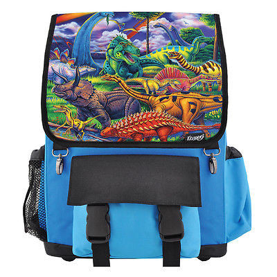 Dinosaur Jungle School Backpack, Book Bag for Boys, Girls, Kids