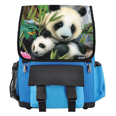 Precious Pandas School Backpack, Book Bag for Boys, Girls, Kids