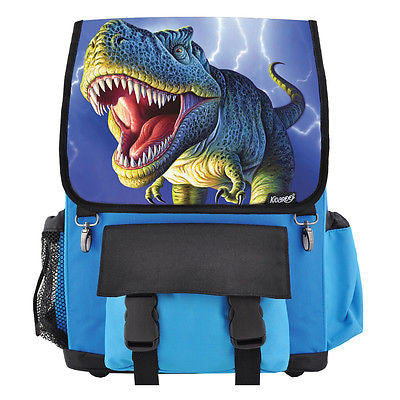 Lightning Rex Dinosaur School Backpack for Boys, Girls, Kids