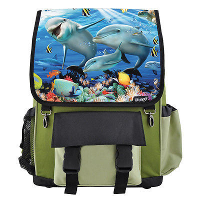 Dolphin Sunshine On The Reef Backpack for Boys, Girls, Kids
