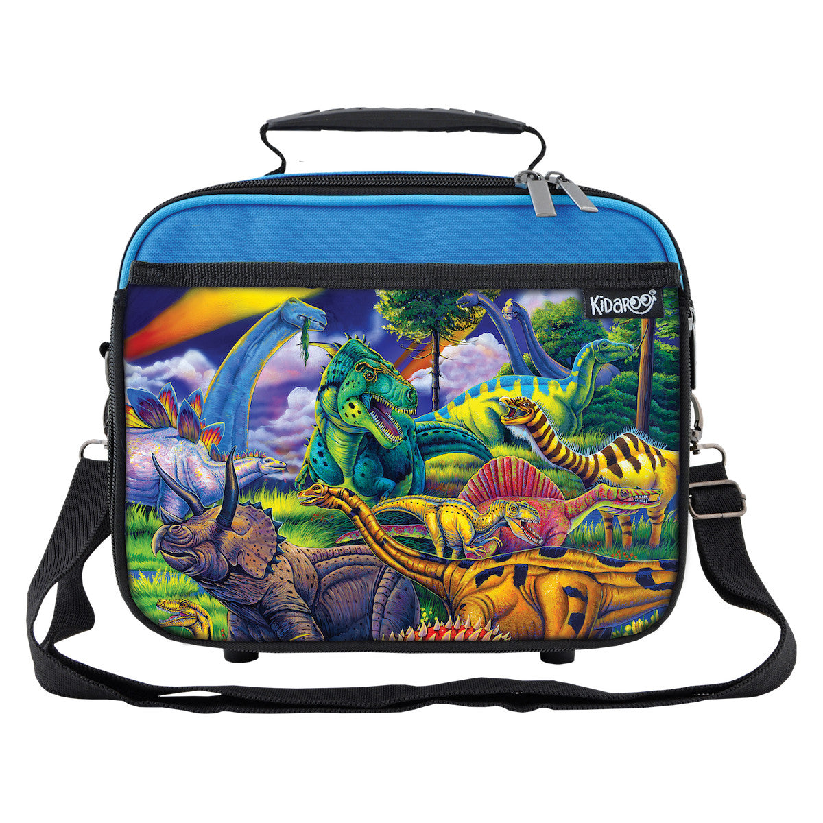 Dinosaur Jungle School Lunchbox, Tote Bag for Boys, Girls, Kids