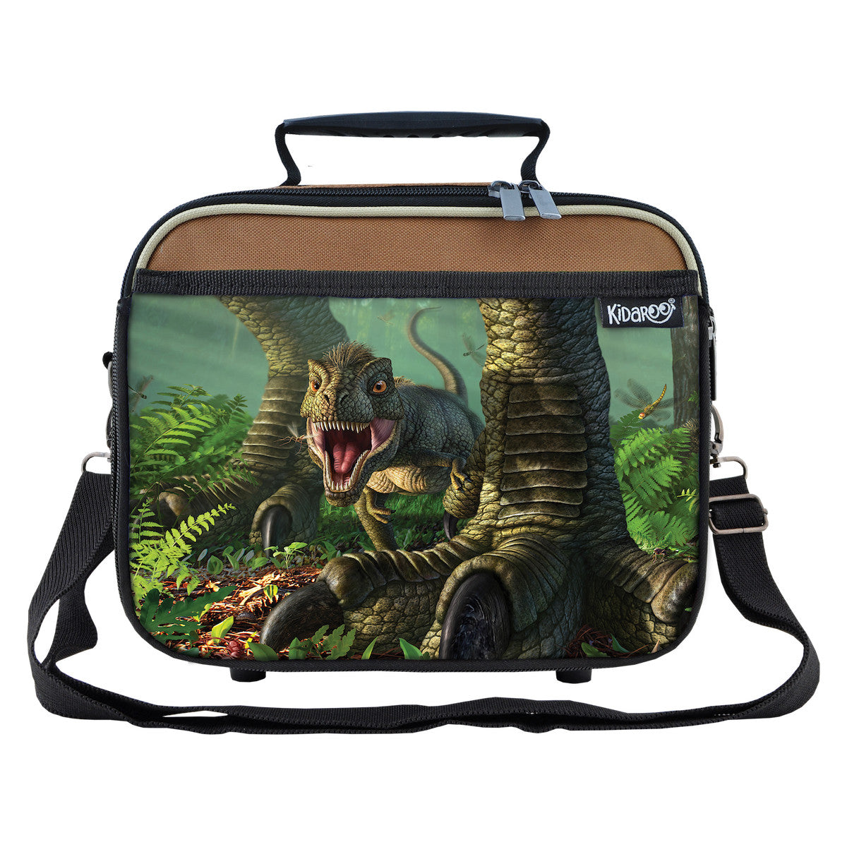 Baby Wee Rex Dinosaur School Lunchbox, Tote Bag for Boys, Girls, Kids