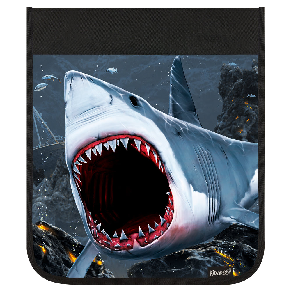 Kidaroo Shark Bite Backpack Flap