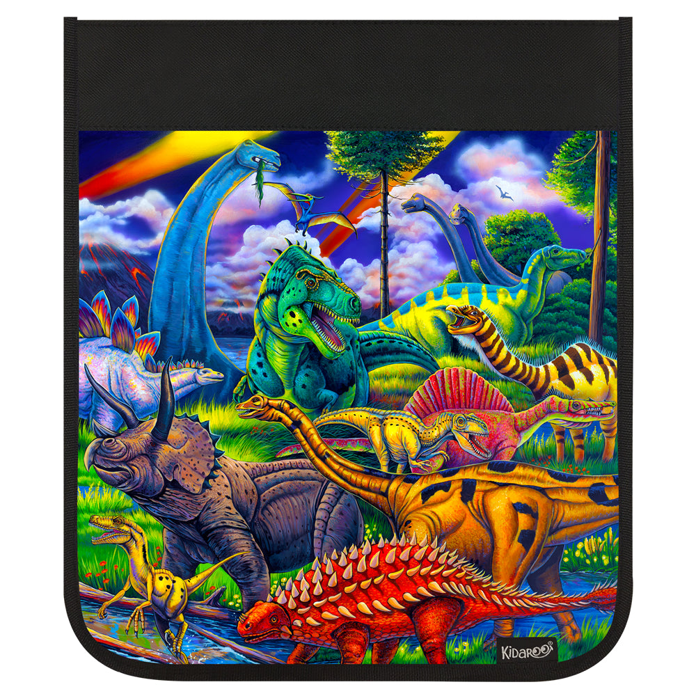 Kidaroo Dinosaur Jungle Backpack Flap