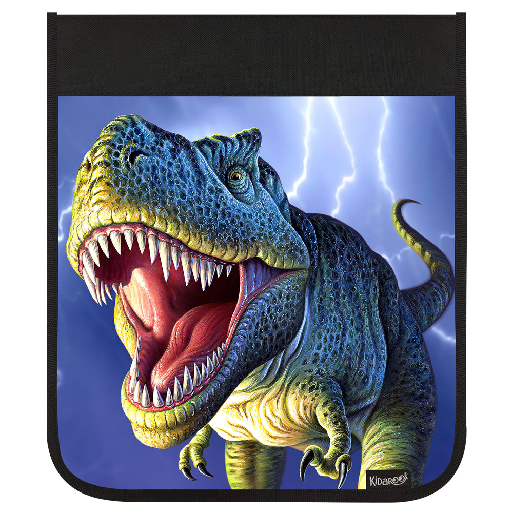 Kidaroo Lightning Rex Dinosaur Backpack Flap