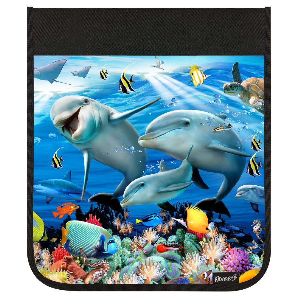 Kidaroo Dolphin Sunshine On The Reef Backpack Flap