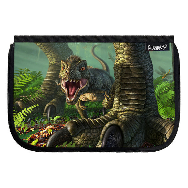 Kidaroo Baby Wee Rex Dinosaur School Lunch Box Flap