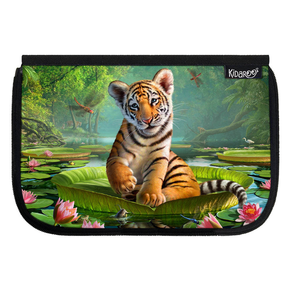 Kidaroo Tiger Lily School Lunch Box Flap