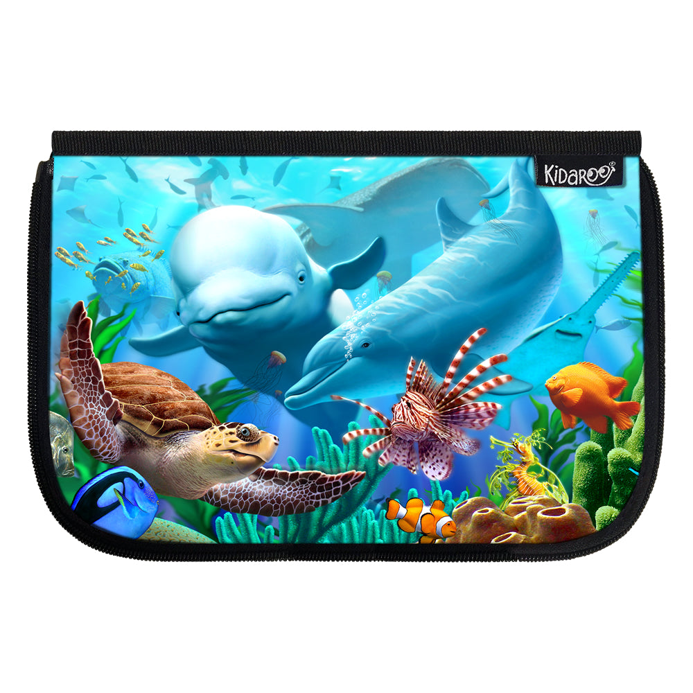 Kidaroo Sea Village School Lunch Box Flap