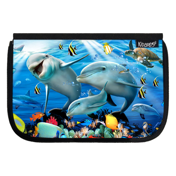 Kidaroo Sunshine On The Reef School Lunch Box Flap